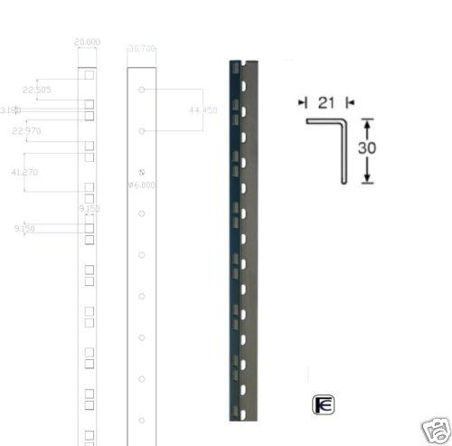 Montante Rack In Acciaio Nero 45 Unit 224 61532blk 15