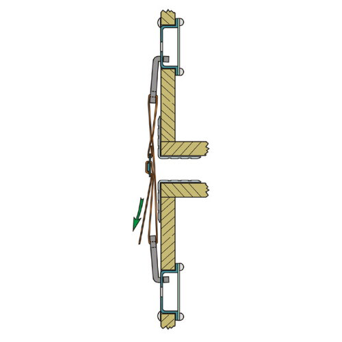 Case Connection System Lashing Strap for 87981