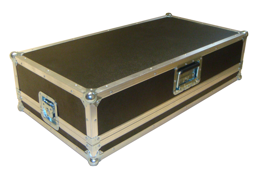 FLIGHT CASE PEDALBOARD L75 P40 H18