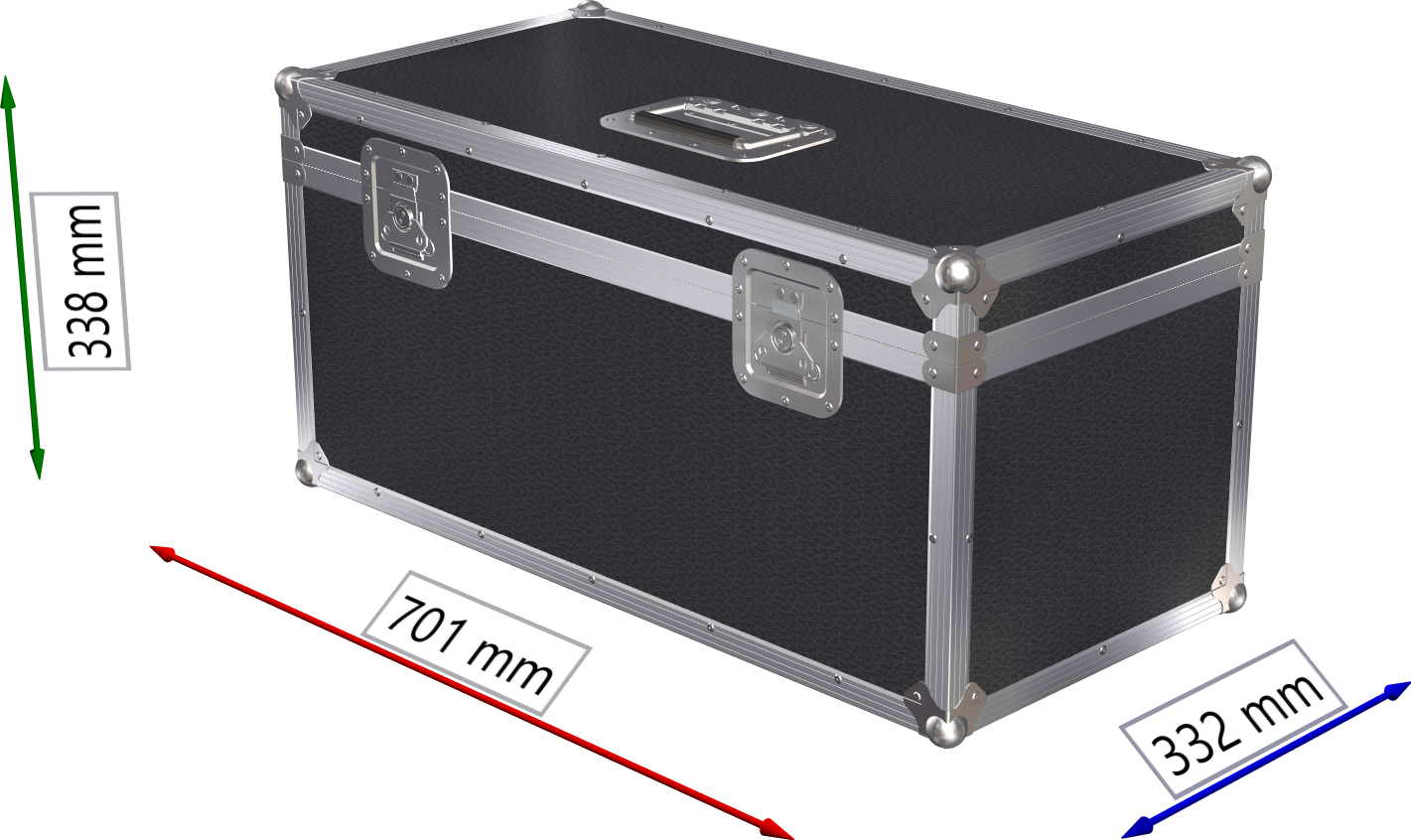 FLIGHTCASE BAULETTO